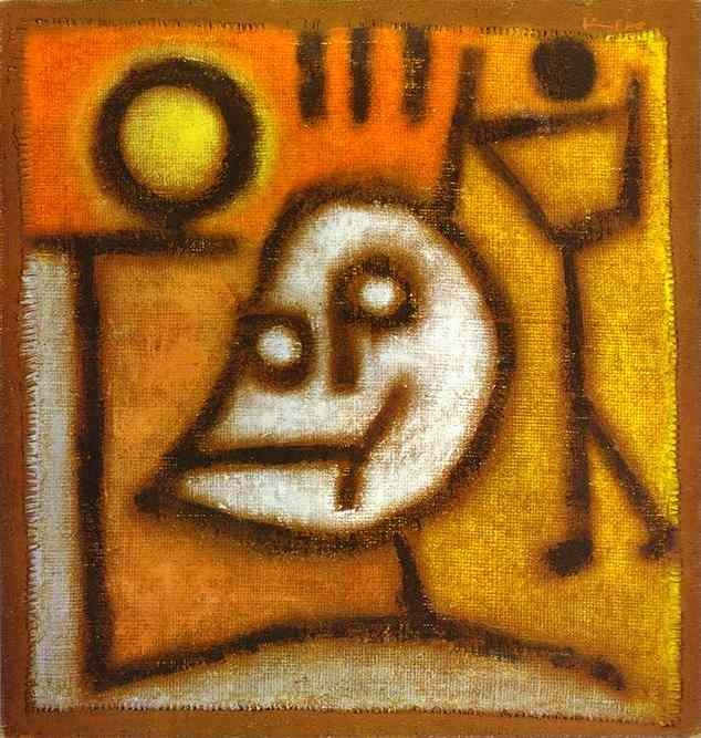 Death and Fire (Paul Klee, 1940)